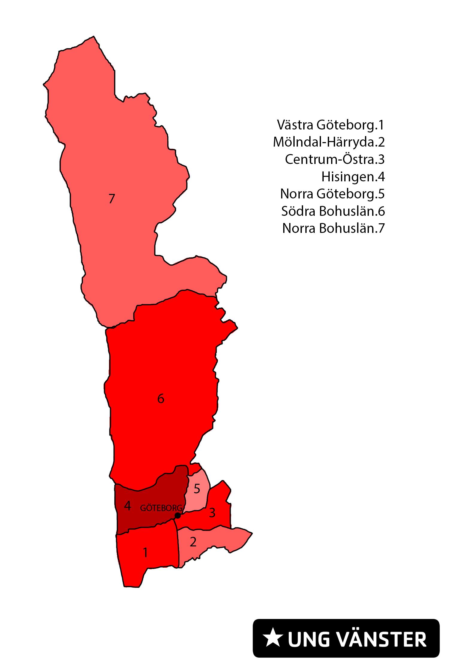 Ung Vänster - Göteborg Bohuslän